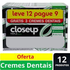 Creme Dental Triple Menta Close Up 70g Leve 12 Pague 9