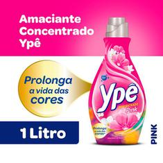 Amaciante Concentrado Pink Ypê 1L