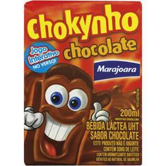 Bebida Láctea sabor Chocolate Chokynho Marajoara 200ml