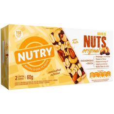 Barra de Cereais Original Nutry Nuts 2x30g