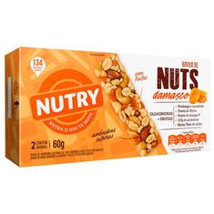 Barra de Cereais Damasco Nutry Nuts 2x30g