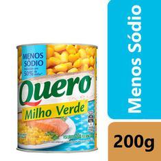 Milho Verde 50% Menos Sódio Quero 200g