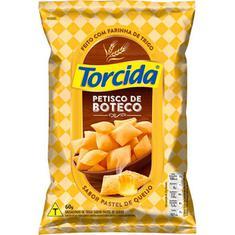 Salgadinho Petisco de Boteco sabor Pastel de Queijo Torcida 60g