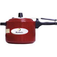 Panela de Pressão Aluminela Vermelho 4,5L
