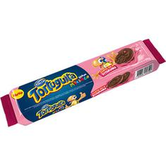 Biscoito Recheado sabor Morango Tortuguita 86g