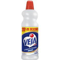 Limpador Limpeza Pesada Cloro Ativo Veja 1L 20% de Desconto