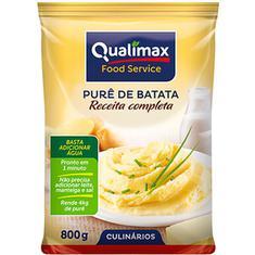 Purê de Batatas Receita Completa Qualimax 800g