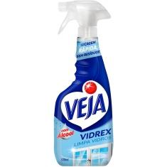 Limpa Vidro Líquido Spray Vidrex Veja 500ml