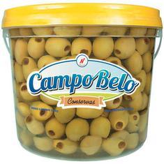 Azeitona Verde sem Caroço Campo Belo 2kg