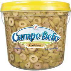 Azeitona Verde Fatiada Campo Belo 2kg