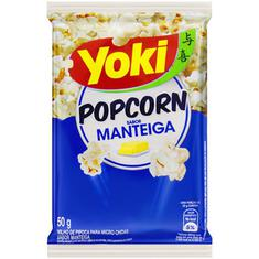 Milho de Pipoca para Micro-ondas Sabor Manteiga Yoki 50g