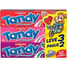 Creme Dental Infantil Tandy 50g Leve 3 Pague 2