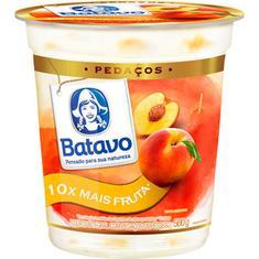 Iogurte com Pedaços de Pêssego Batavo 500g