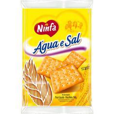 Biscoito Água e Sal Ninfa 740g