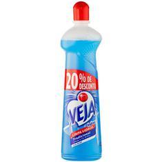 Limpa Vidros Vidrex com Álcool Veja 500ml 20% de Desconto