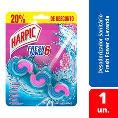 Bloco Sanitário Lavanda Harpic Power 26g 20% Desconto