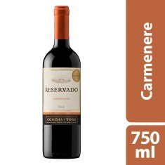 Vinho Chileno Demi-Sec Carménère Concha y Toro 750ml
