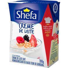 Creme de Leite Shefa 200g