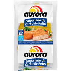 Empanado de Peito de Frango Aurora 100g