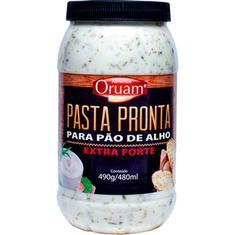 Pasta para Pão de Alho Extra Forte Oruam 490g