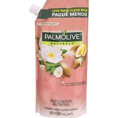 Sabonete Líquido Óleo Nutritivo com Camélia & Óleo de Amêndoas Palmolive Naturals Refil 500ml