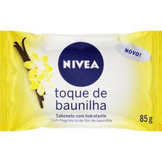 Sabonete Hidratante Baunilha Nivea 85g