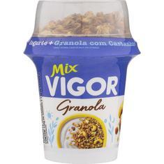 Iogurte Granola com Castanhas Mix Vigor 165g