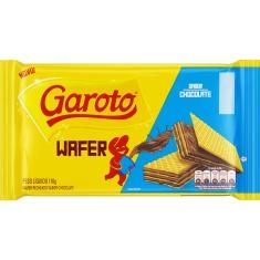 Biscoito Wafer Sabor Chocolate Garoto 110g