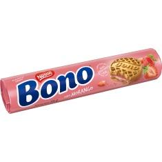 Biscoito Recheado Sabor Morango Bono 126g