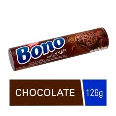 Biscoito Recheado Sabor Chocolate Bono 126g