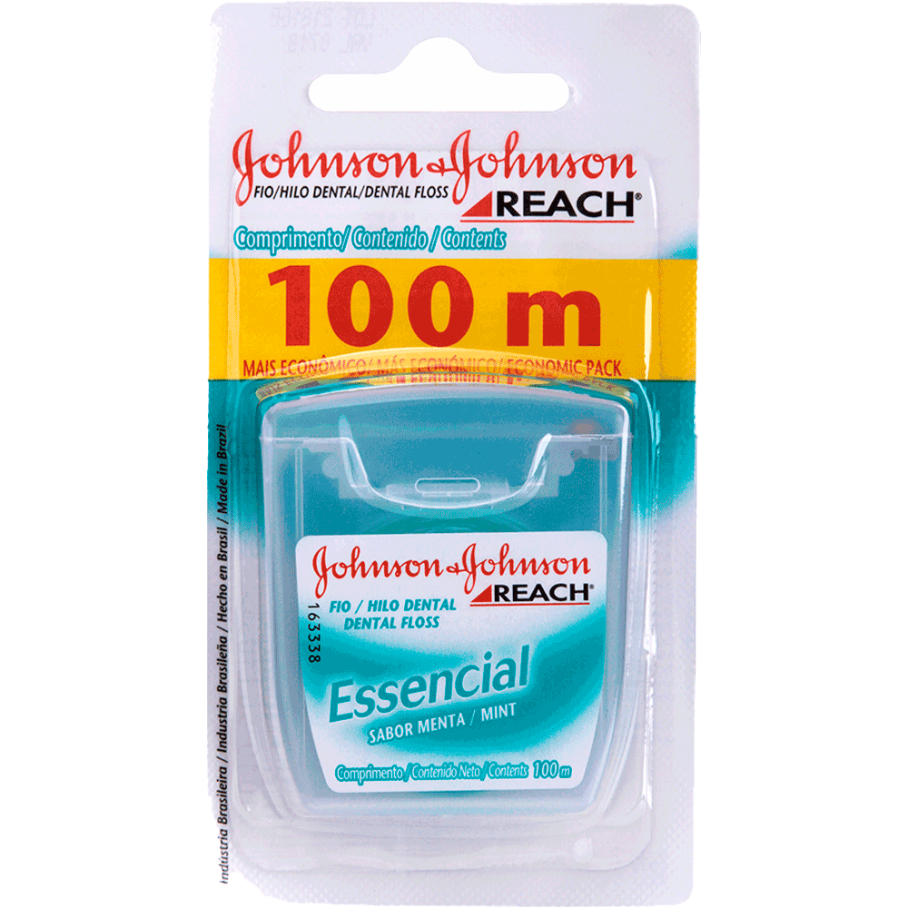 Fio Dental Johnsons Reach Essencial 100m