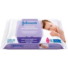 Lenço Umedecido Johnsons Baby Hora do Sono 48un