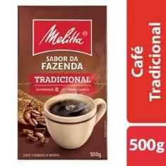 Café Tradicional Torrado e Moído Sabor da Fazenda Melitta 500g