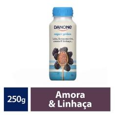 Leite Fermentado Amora e Linhaça Danone 250g