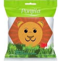Esponja para Banho Kids Animais Ponjita 1un