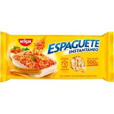 Macarrão Instantâneo Tipo Espaguete T3 Nissin 500g