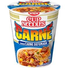 Macarrão Instantâneo Sabor Carne Defumada Cup Noodles Nissin 69g