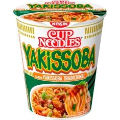 Macarrão Instantâneo Sabor Yakissoba Tradicional Cup Noodles Nissin 70g