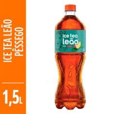 Chá Ice Tea Midsugar Pêssego Leão 1,5L