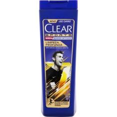 Shampoo Clear Sports Men Limpeza Profunda 400ml
