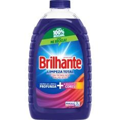 Lava Roupa Líquido Brilhante 3l