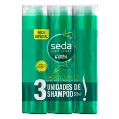 Shampoo Cachos Definidos Seda 3un 325ml