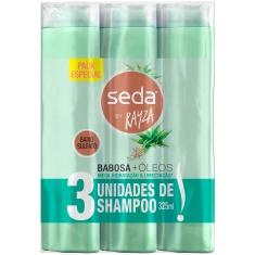 Shampoo Babosa Óleos Seda 3un 325ml