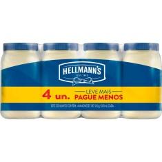 Kit Maionese Hellmanns Leve Mais Pague Menos 500g