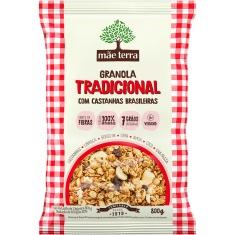 Granola Tradicional com Mel e Castanhas Mãe Terra 800g
