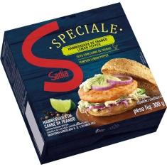 Hambúrguer de Frango Lemon Speciale Sadia 150g