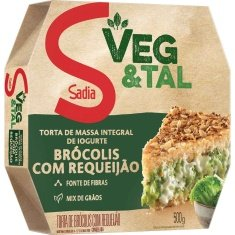 Torta Integral Brócolis com Requeijão Sadia 500g