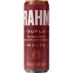 Cerveja Duplo Malte Lata Sleek Brahma 350ml