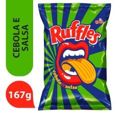 Batata Ruffles Cebola e Salsa 167g