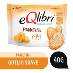 Snack Sabor Queijo Suave Panetini Equilibri 40g